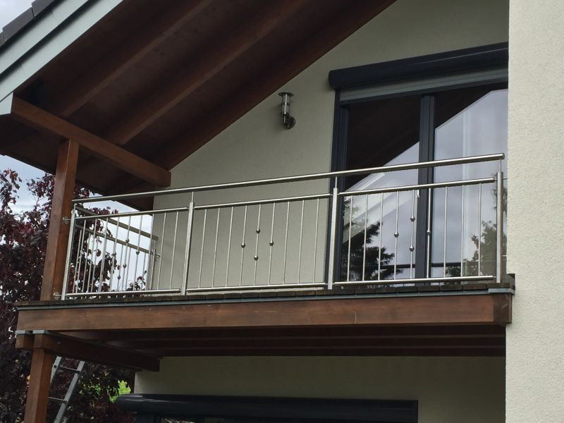 metallbau kliewer balkongel nder edelstahl. Black Bedroom Furniture Sets. Home Design Ideas